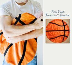 Northwest Gifts - Basketball Baby Blanket, $39.95 (http://northwestgifts.com/products/Basketball-Baby-Blanket.html)
