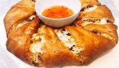 BBQ Chicken Kerstkrans recept | Smulweb.nl