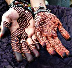 henna ~ masculine ~ feminine ~ 2mor by nomad heart henna via Flickr