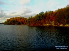 Picturesque Autumn Beauty on Isabella lake near Orrville Ontario off the Chutes Trail