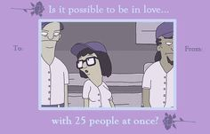 """7 Valentine's Day Cards Inspired By Tina From """"Bob's Burgers"""""""