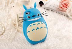 Totoro Silikon Handyhülle für iphone4/4S/5/5S/6/Plus, Samsung Note2/3/4,S4/5/6/6edge - Prima-Module.Com