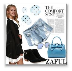 """""""ZAFUL-the comfort zone"""" by jelena-880 ❤ liked on Polyvore"""