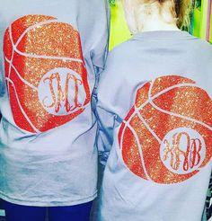 Basketball Monogram Tshirt by ToddlersandTeens1 on Etsy https://www.etsy.com/listing/265130916/basketball-monogram-tshirt