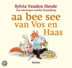 Aa bee see van Vos en Haas - Sylvia Vanden Heede en illustrator The Tjong Khing