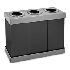 Indoor Recycling Bins, Recycling Storage, Trash And Recycling Bin, Recycling Containers, Recycling Center, Trash Bins, Plastic Recycling, Recycling Ideas, Plastic Waste