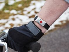 This medical flash drive bracelet, discovered by The Grommet, brings medical emergency bracelets join the digital age.
