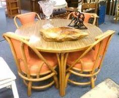 Fifties Bamboo Tiki Furniture