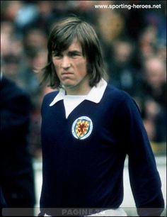 Kenny Dalglish When He Was Young