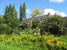 Our cottage rental in Brittany.