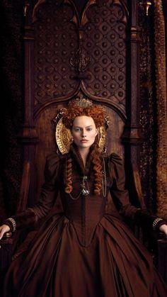 "margotdaily: """" Margot Robbie as Queen Elizabeth I in Mary Queen of Scots "" "" Elizabeth I, Mary Queen Of Scots, Milla Jovovich, Serie Reign, Isabel I, Mode Renaissance, Marie Stuart, Elizabethan Fashion, Actress Margot Robbie"