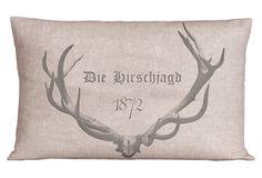 Die Hirschjagd 14x20 Pillow, Natural on OneKingsLane.com
