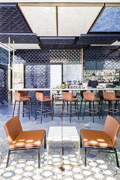 Blue Wave (Barcelona, Spain), Europe Bar   Restaurant & Bar Design Awards