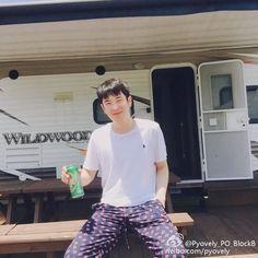 that's Block B Pyo Jihoon, B Bomb, Korean Group, Block B, Rapper, Instagram Posts, Blog, Blogging
