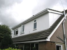 white cladding on dormers - Google Search