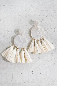 Haute Off The Precious Tassel Earrings