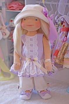 Lavender Fields Outfit for 18 inch dolls
