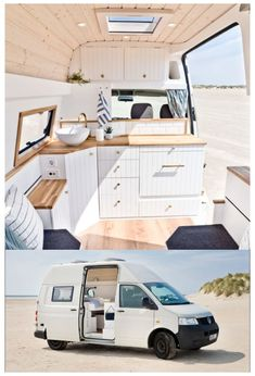 Van Conversion Interior, Camper Van Conversion Diy, Van Interior, Vw Camper Conversions, T4 Camper Interior Ideas, Van Conversion Kitchen, Van Conversion Layout, Build A Camper, Bus Camper