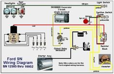 Ford 2n 12 Volt Conversion Wiring Diagram Electrical Schematic For 12 V Ford Tractor 8n Google