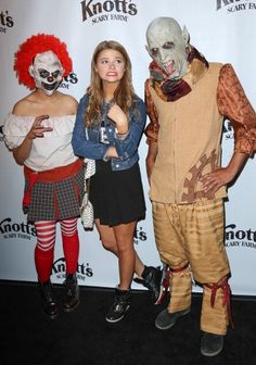 Stefanie Scott attends the VIP opening of Knott's Scary Farm HAUNT at Knott's Berry Farm on October 3, 2013 in Buena Park, California
