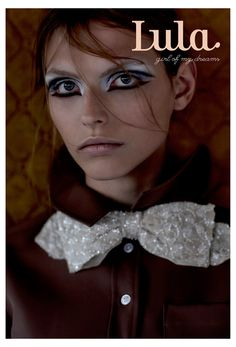 Lula Magazine No. 16, Spring/Summer 2013 cover | Karlina Caune by Emma Tempest