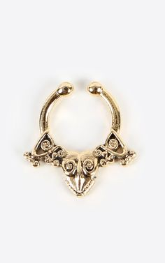 Be daring with this tribal septum ring! | MakeMeChic.com