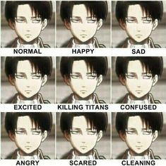 he's Levi Ackerman from the anime Shingeki no Kyojin / Attack on Titan (credit to the artist) Armin, Mikasa, Eren E Levi, Otaku Anime, Manga Anime, Anime Naruto, Sasuke, Ereri, Levihan