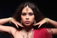 #woman #portrait #light #night #indie #sari #style #esquire #reddress #dress #photo #hair #sexy #vogue #elle #fashion