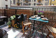25 Balcony ideas: Its spring, enjoy the fresh air. | outdoors design gardens terrace  | terrace spring design outdoor design outdoor Balcony