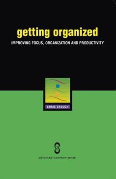 Free Kindle Book For A Limited Time : Getting Organized: Improving Focus, Organization and Productivity - Getting Organized is a collection of simple ideas that address at least six major issues that could be generating chaos and disorder in your life. The ideas are presented in a simple format, with specific suggestions on how to put each idea to work, so busy people can find the time to read and try them. Even if you've tried unsuccessfully to get organized before, consider reading Getting…