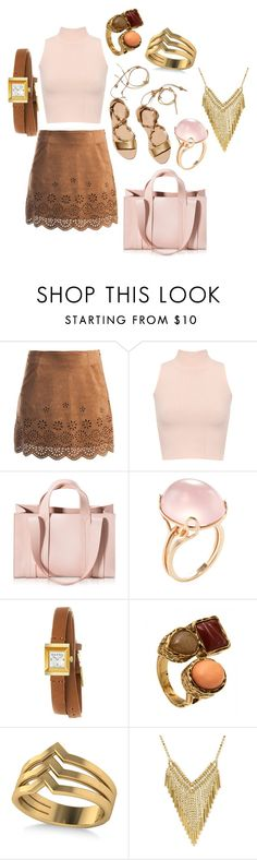 """""""ideas"""" by hannahleighhh on Polyvore featuring Loeffler Randall, Sans Souci, WearAll, Corto Moltedo, Goshwara, Gucci and Allurez"""