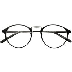 True Vintage Fashion Style Clear Lens Eyeglasses Round Frames r45 (71 SAR) ❤ liked on Polyvore featuring accessories, eyewear, eyeglasses, glasses, round eye glasses, clear lens glasses, round tortoise glasses, tortoise glasses and tortoise eye glasses