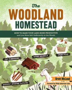 Unlock the potential of your wooded land. Even just a small lot is full of possibilities for sustainable use. Growing food, harvesting wood, or supporting livestock--Brett McLeod will teach you how to get the most out of your land.