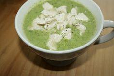 Low Carb - Grip op Koolhydraten: Romige Broccoli soep met kip
