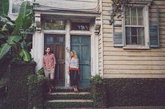 Downtown Charleston engagement by @billiejojeremy.   #husbandandwife #engagementphotographers #weddingphotographers #charleston #engagementportraits #vsco #charlestonweddingphotographer #billiejoandjeremyphotography #bluedoor
