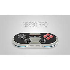 8BITDO NES30 Pro Wireless Bluetooth Controller Dual Classic Joystick For Android Gamepad - PC Mac Linux
