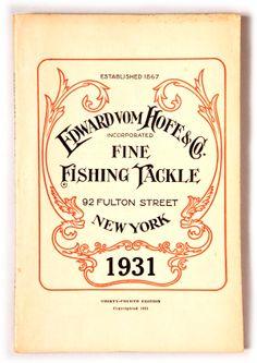 Edward Vom Hofe Catalog, 1931