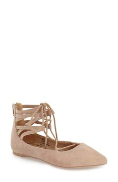 Coconuts by Matisse 'Liberty' Ghillie Lace-Up Flat (Women) available at #Nordstrom