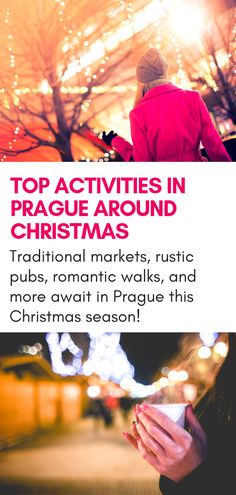 Looking for the best things to do in Prague at Christmas time? This guide is for you! Traditional Christmas markets, romantic walks, hiking near Prague, and more wait this holiday season! Prague Christmas Market, Christmas Travel, Christmas Time, Europe Christmas, Holiday Travel, Xmas, Hiking Europe, Europe Travel Tips, Travel Advice