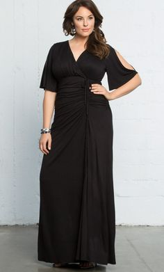 Check out the deal on Bella Braided Maxi Dress-Sale! at Kiyonna Clothing