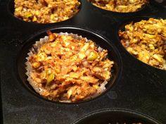 DEZERT NA VÍKEND #10 – Jablkové muffiny s vlašskými ořechy Apple Muffins, Paleo, Rice, Sweets, Food, Fat, Sweet Pastries, Meal, Gummi Candy