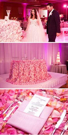 absolutely love all about this wedding decor!