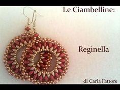 Sidonia's handmade jewelry - Rivoli earrings tutorial - YouTube