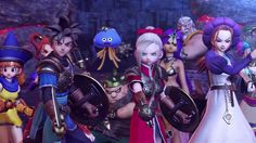 Meet the Warriors of Dragon Quest Heroes - http://www.entertainmentbuddha.com/meet-the-warriors-of-dragon-quest-heroes/
