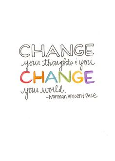 Change your world #fitspiration