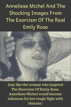 The final exorcism of Anneliese Michel, the real-life Emily Rose, ended in the death inside her home in Germany in Anneliese Michel, Demon Possession, Paranormal Stories, Creepy Facts, Emily Rose, Demonology, Fallen Angels, True Crime