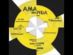 BOBBY PARKER AND GROUP - FOOLISH LOVE - AMANDA 1001 - 1959 - YouTube