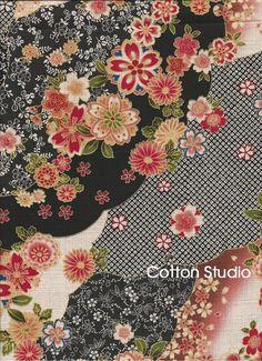 15 Japanese Kimono Print Fabrics Ideas Japanese Japanese Fabric Printing On Fabric