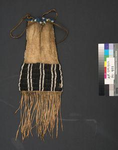 Сумка для табака, Амскапи Пикуни. 1850 год.