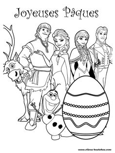 All Frozen Characters Say Happy Easter Coloring Page Make your world more colorful with free printable coloring pages from italks. Our free coloring pages for adults and kids. Frozen Coloring Pages, Barbie Coloring Pages, Easter Coloring Pages, Colouring Pages, Coloring Books, Kids Coloring, Mandala Coloring, Coloring Sheets, Olaf